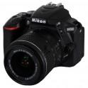 Nikon D5500 Kit 18-55 mm VR II schwarz