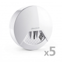 Devolo Home Control Rauchmelder 5er Pack