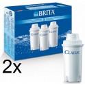 Brita Classic Filterkartusche 6er Pack