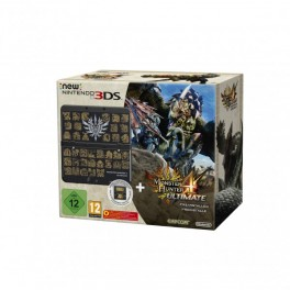 Nintendo New 3DS Konsole Black inkl. Monster Hunter 4 Ultimate Pack