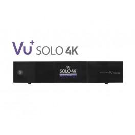 Vu+® Solo 4K UHDTV 2x DVB-S2 FBC / 1x DVB-C/T2 Dual Tuner Receiver