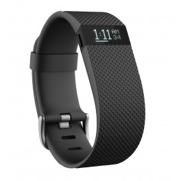 Fitbit Charge Fitness Tracker Armband Large Schwarz