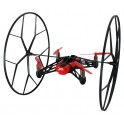 Parrot Rolling Spider Mini Quadrocopter für Android- Apple Smartphones und Tablets rot