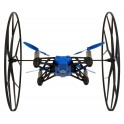 Parrot Rolling Spider Mini Quadrocopter für Android- Apple Smartphones und Tablets blau